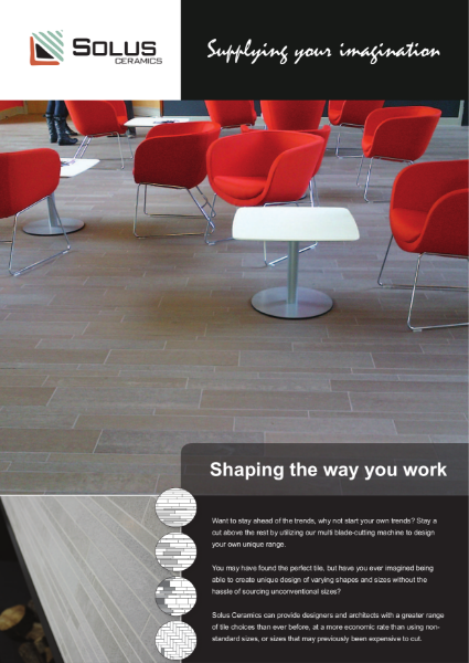 Solus Ceramics Shaping the way you work