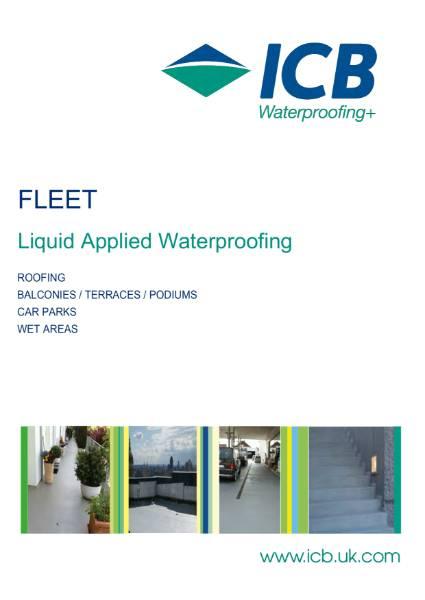 FLEET PMMA Liquid Applied Waterproofing Brochure