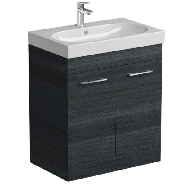 Angelo Floor Mounted Basin Unit With Two Doors