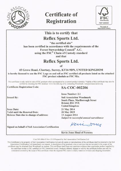 FSC® (Forest Stewardship Council®) Certification