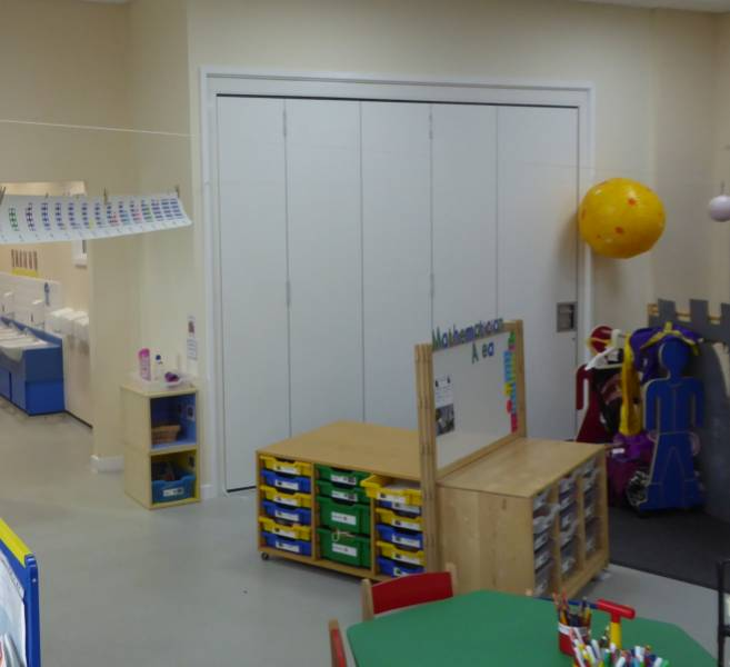 Style Offers Expert Partitioning Advice to School - Wolvercote Primary School