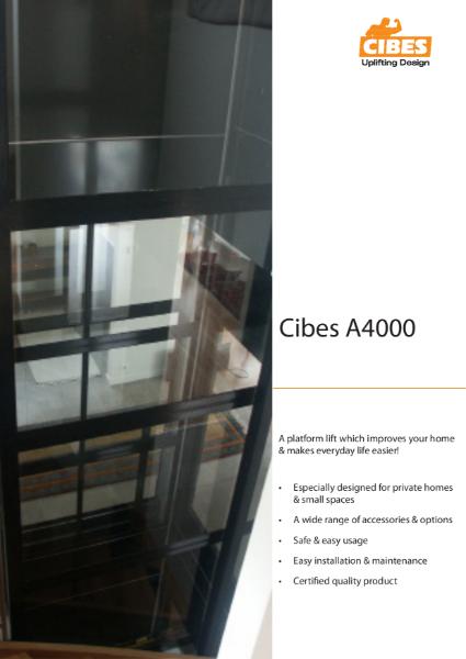 A4000 Home Lift