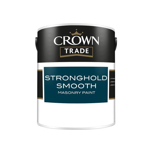 Crown Trade Stronghold Smooth Masonry Paint