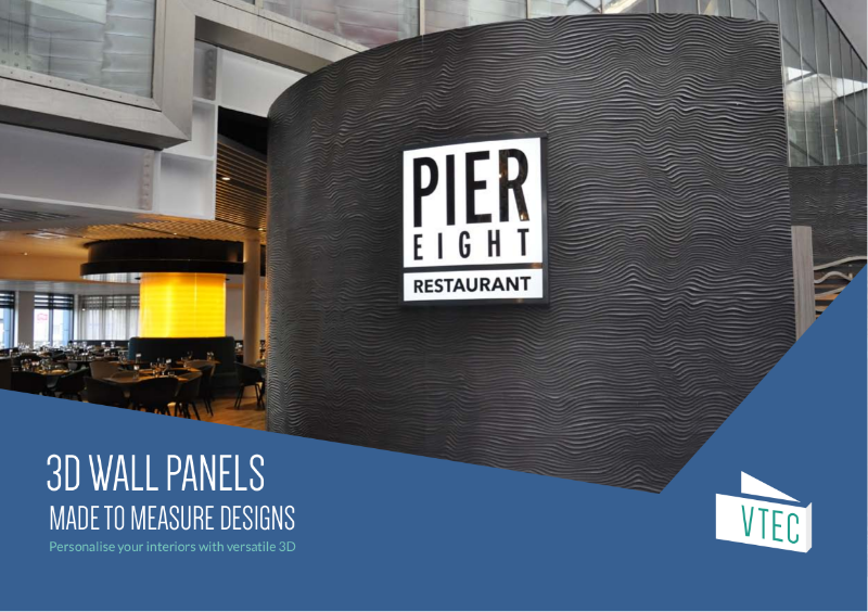 3D Panels - Bespoke decorative wall panels for the perfect fit