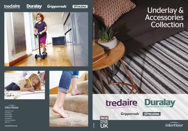 Underlay & Accessories Brochure