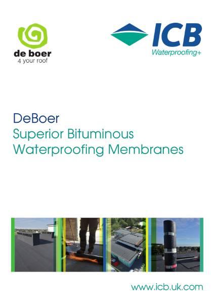 DeBoer Reinforced Bitumen Membranes