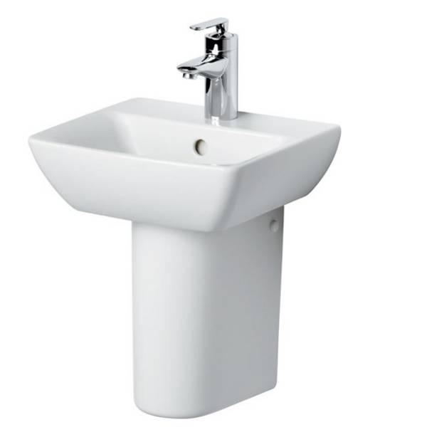 Santorini Bow 40cm Handrinse Washbasin