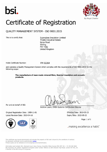 ISO 9001: 2015 - Quality Management Systems