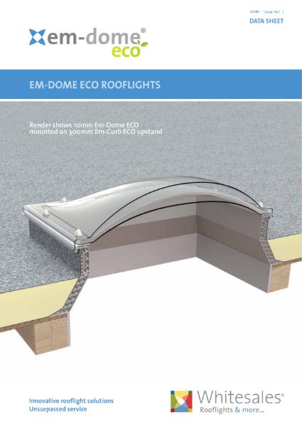 Em-Dome ECO Rooflights Datasheet