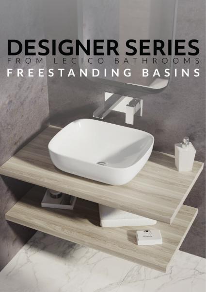 Designer Series from Lecico Bathrooms - Freestanding Basins