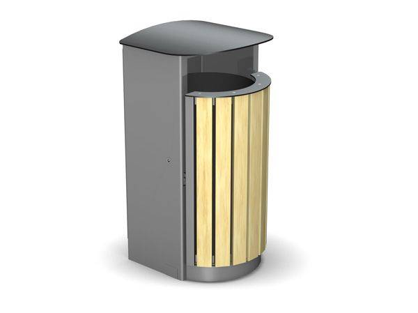 Arca Circular Single Sided Litter Bin