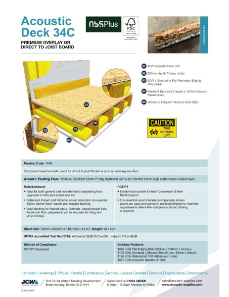 Acoustic Deck 34c