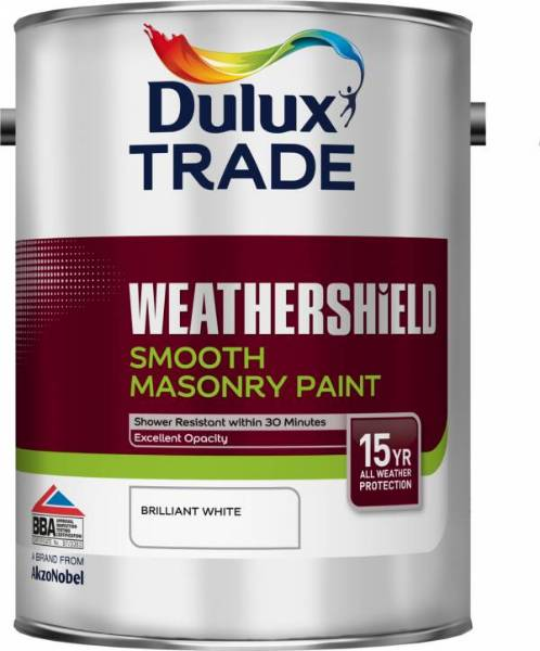 Weathershield Smooth Masonry Paint