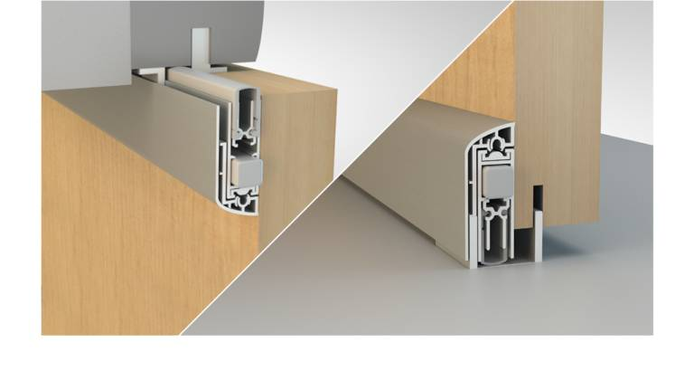 Norsound NOR861 Sliding Surface Acoustic Automatic Door seal
