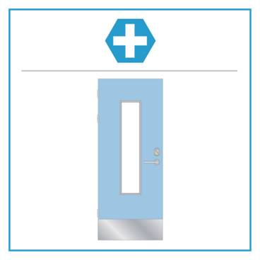 H10 Medica Select Single Hardware Set