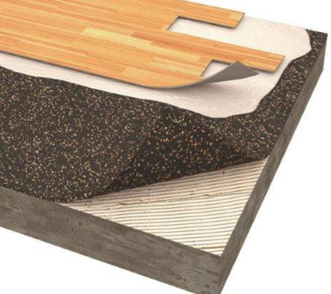 TVS ACOUSTICORK T82 Acoustic Underlay Material
