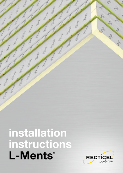Recticel Insulation L-Ments pitched roof insulation panel system