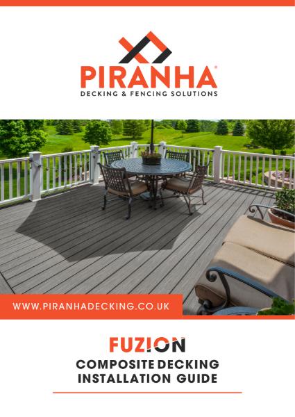 Piranha Fuzion Decking - Installation Guide
