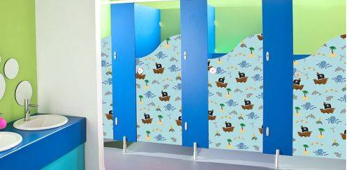 Brecon CGL™ Tough Children's Cubicles