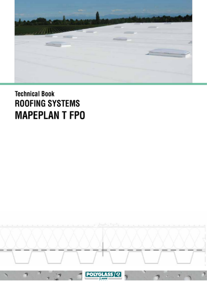 Technical guidance for the application and installation of Mapeplan FPO synthetic waterproofing membranes for flat roofs.