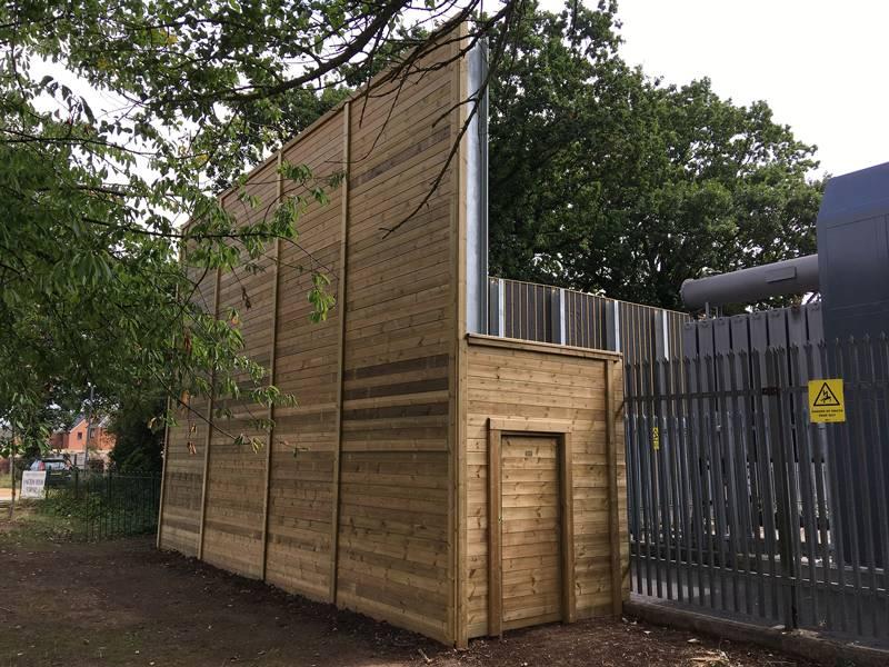Tennis World uses absorptive acoustic barrier to reduce noise for phase 1 of £400,000 investment