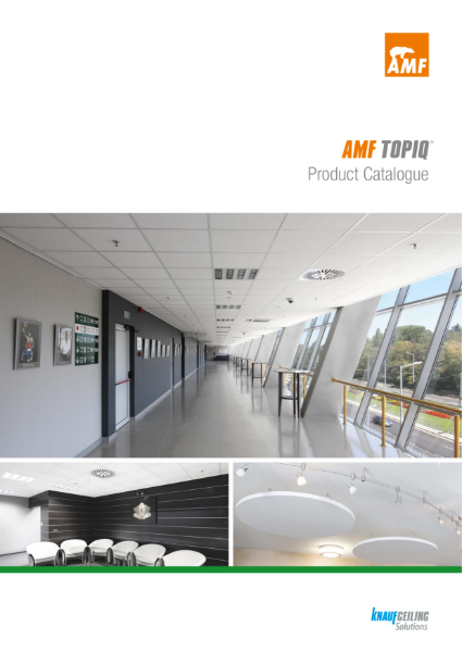 AMF TOPIQ® Soft Fibre Ceiling Tiles