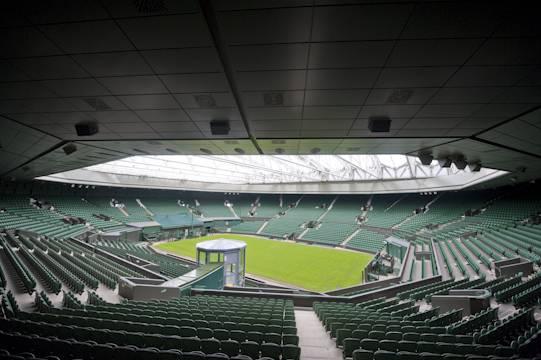 Wimbledon Centre Court - FEATURING STOPGAP F75, STOPGAP P131, STOPGAP 300 HD, STYCCOBOND F84