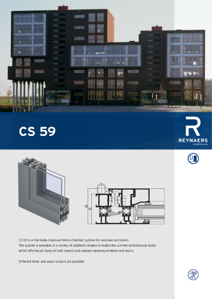 Aluminium Window & Door System - CS 59 Concept System