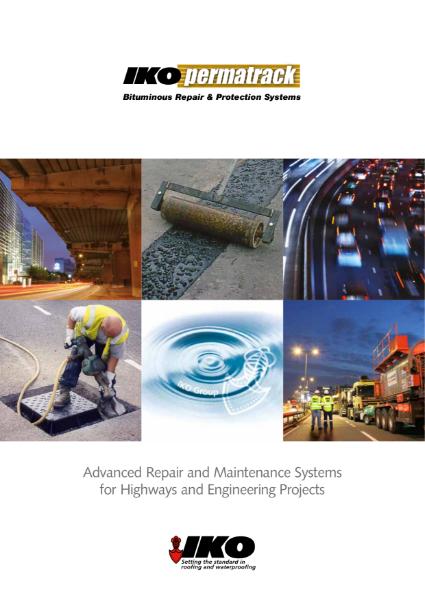IKO Permatrack: Highways and Civils Repair and Maintenance