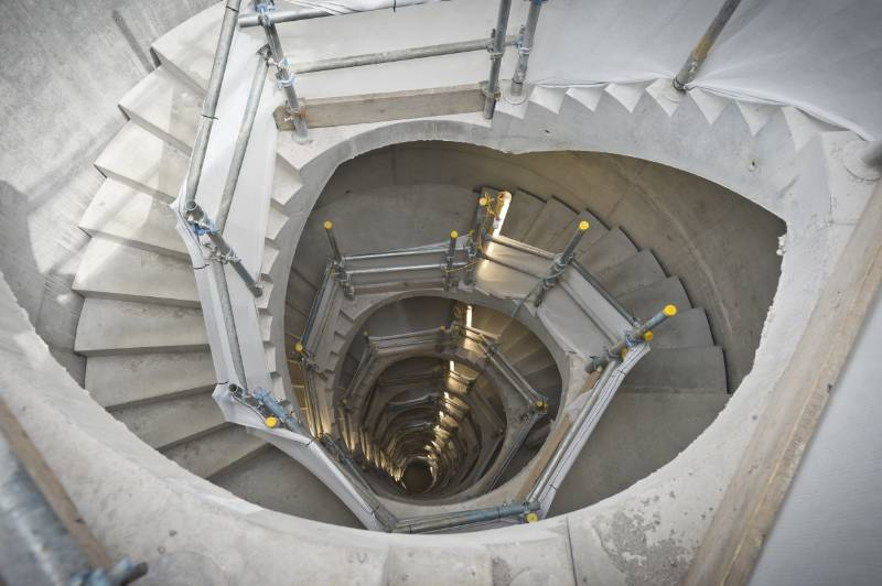 Stair Core at Battersea Power Station