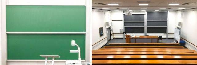Sundeala VES Chalkboard Column Board - Aluminium Columns with Magnetic Writing Surface