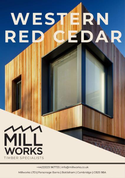 Millworks Western Red Cedar Cladding