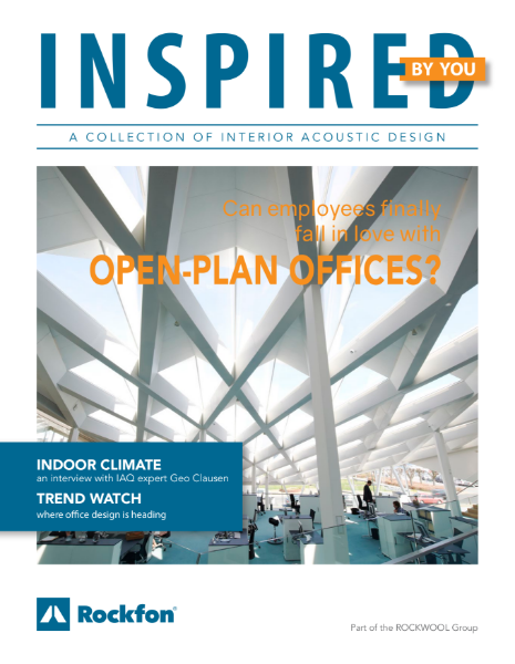 Fall in love with Open Plan Offices (1) - with Rockfon acoustic ceilings