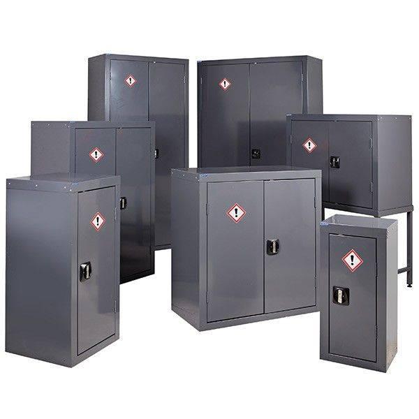 Hazardous Storage Cupboards (COSHH) Grey