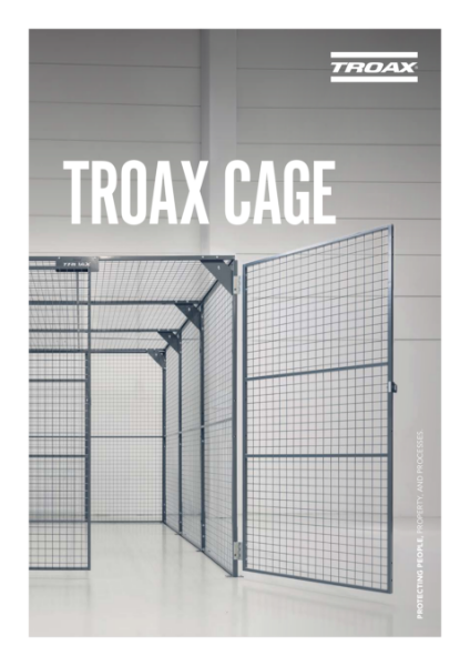 Troax Warehouse Partitioning - Troax Cage