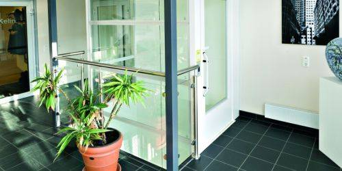 Aritco 7000 Passenger Platform Lift - Same Side Entry and Exit Fire Doors