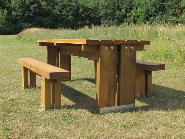 Stark Table and Benches