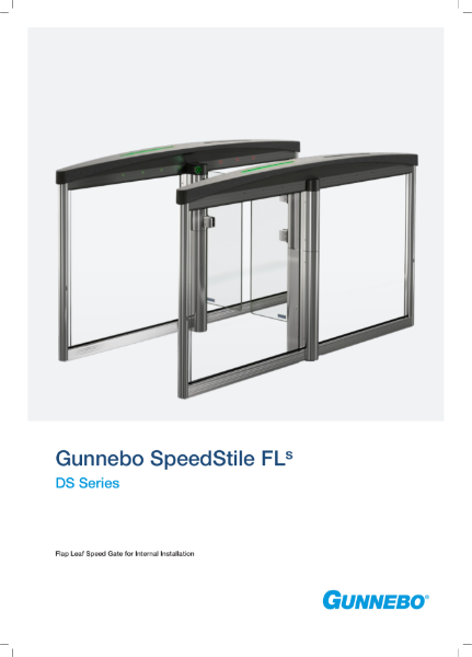 Speed Gate - SpeedStile FLs DS Series