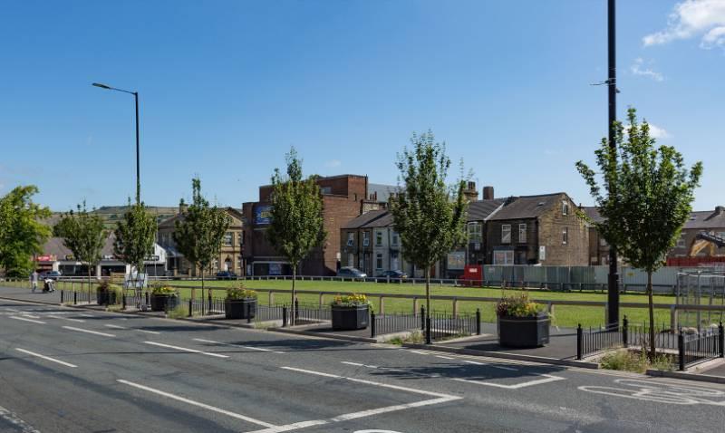 SuDS Scheme - Keighley West Yorkshire