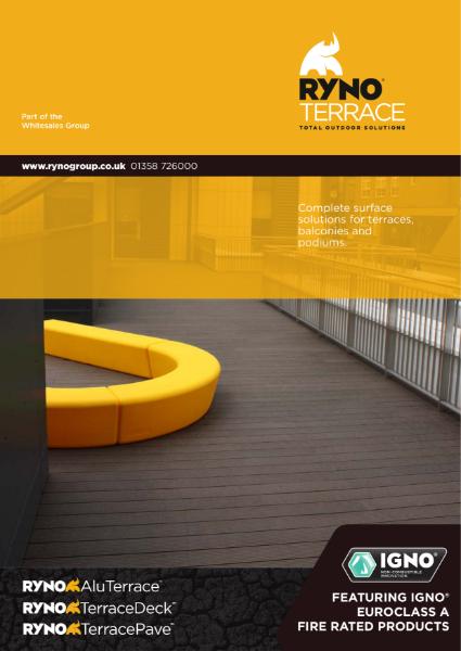 Brochure - RynoTerrace - Terrace & Balcony Flooring Systems
