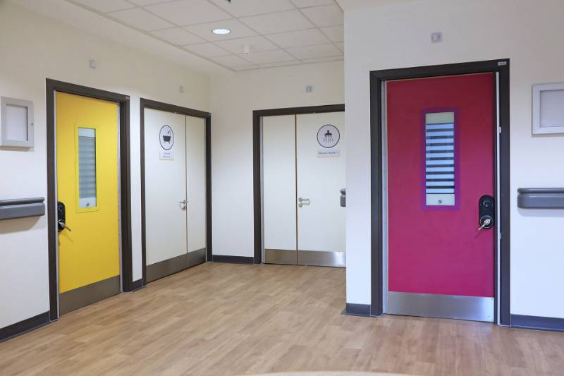 Electronic 5-way SOS locksets - Atherleigh Park (Mental Health and Dementia inpatient services)