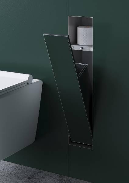 Waste Container Tileable Door - Waste Bin