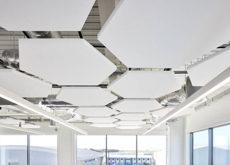 Knauf AMF Ceilings touch down at Bristol Airport
