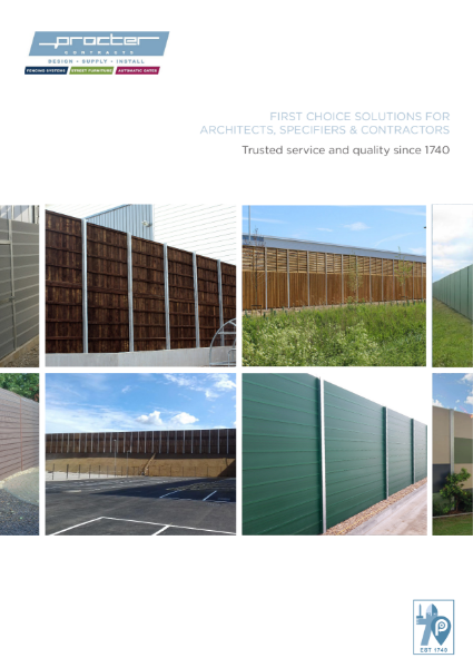 Acoustic and Soundproof Fencing