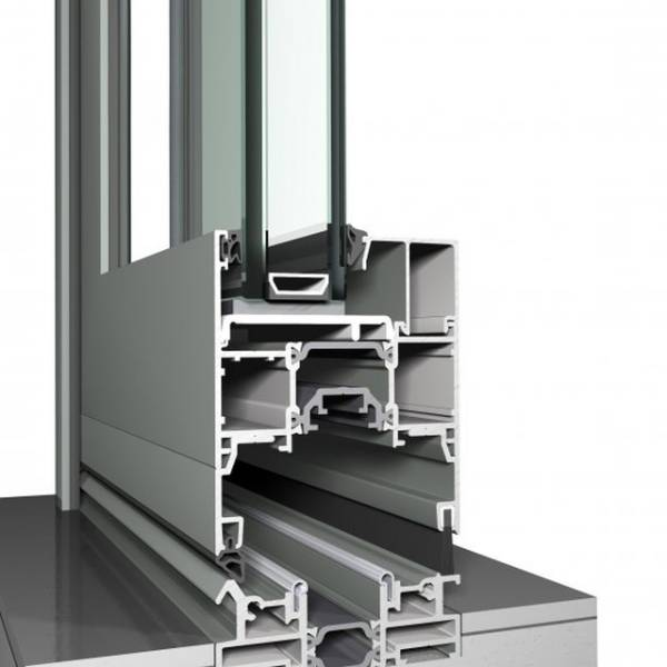Aluminium Sliding and Folding Door CF 77 Concept Folding System