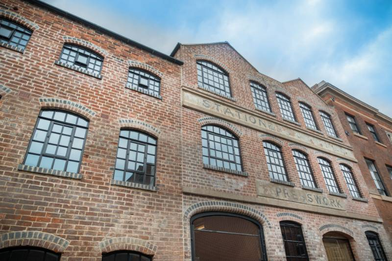 New Clement steel windows preserve the beauty of historic buildings in Birmingham's former Gun Quarter