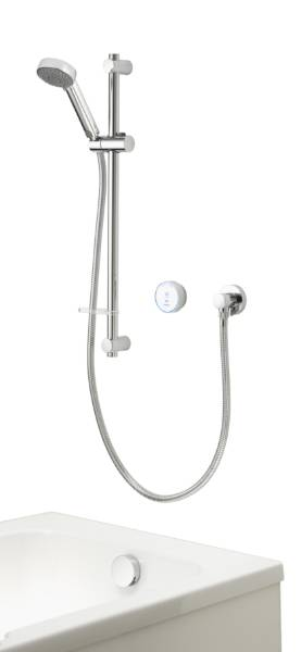 Quartz Blue Smart divert concealed adjustable with bath - GP