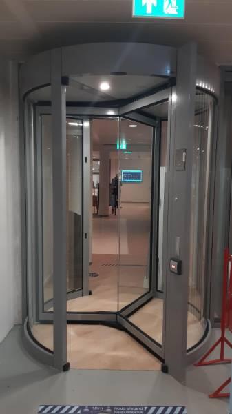 GyroSec Revolving Security Door