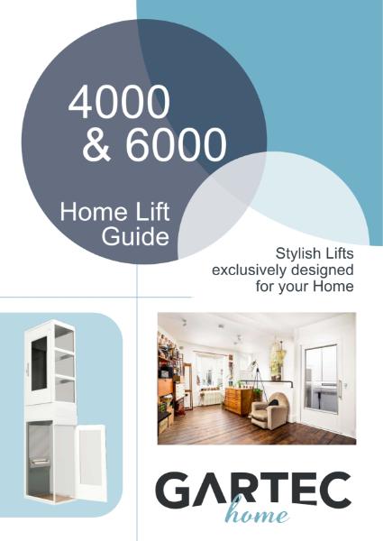 Gartec 4000 & 6000 Residential Passenger Platform Lift Brochure
