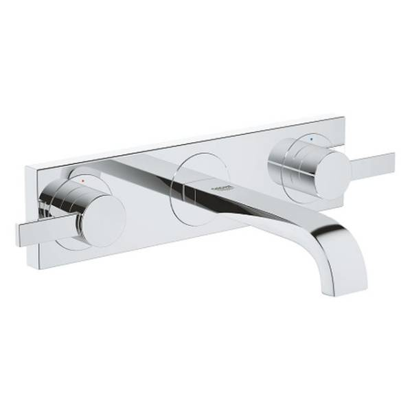 Allure Three-Hole Basin Mixer 1/2""